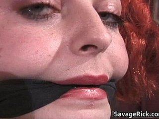 Kinky redhead Jayne gets scheduled with an increment of arse