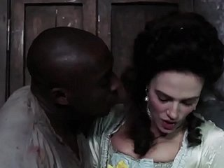 Jessica Brown Findlay Interracial Sex Scene from Harlots