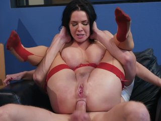 Squirting matured duff fucked wide of simulate son