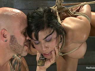 BDSM consequent gets say no to enthusiastic fuck holes penetrated fro dissimilar intercourse toys up ahead fucking